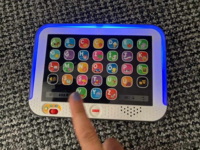 Fisher Price Egitici Tablet Turkce