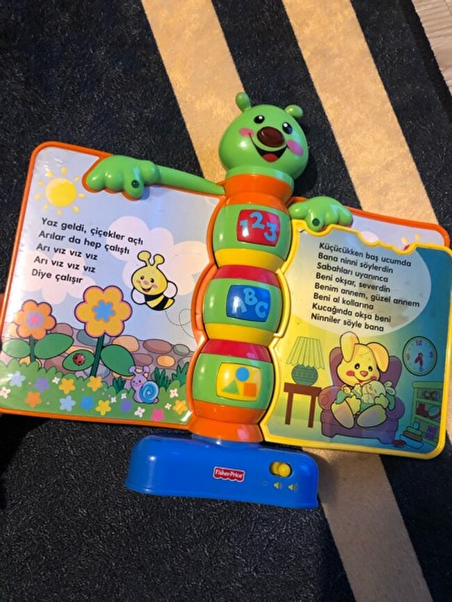 Fisher price eğitici tırtıl
