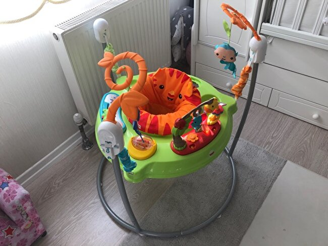 Fisher Price Yağmur Ormanı Jumperoo Hoppala