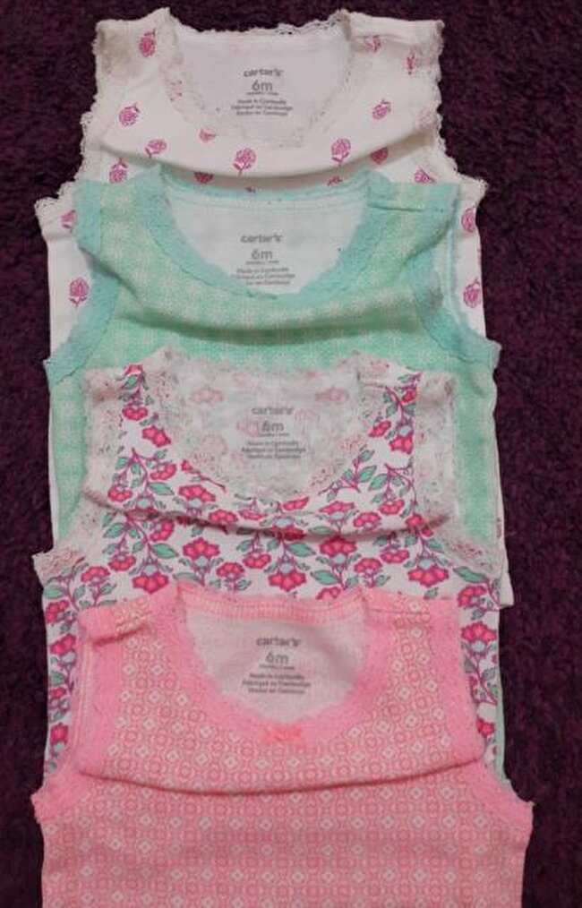Carters 4lü Body Zıbın Set